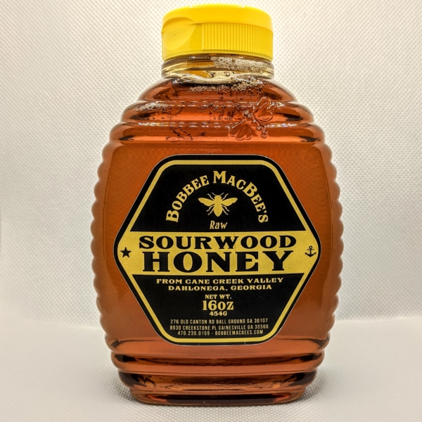 Sourwood Honey - 1lb squeeze